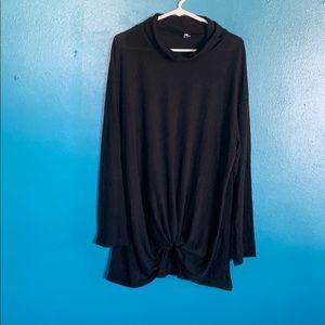 🌟 Black Leo Rosi Soft Sweater